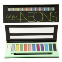 L.A. Girl Beauty Brick Eyeshadow Collection Neons - Тени для глаз, 12 гр
