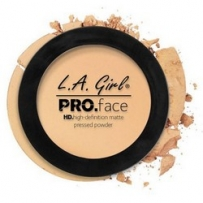 L.A. Girl Pro Face Matte Pressed Powder Creamy Natural - Матирующая пудра для лица